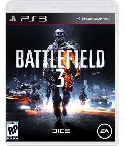 Battlefield 3 - Mídia Física / Ps3