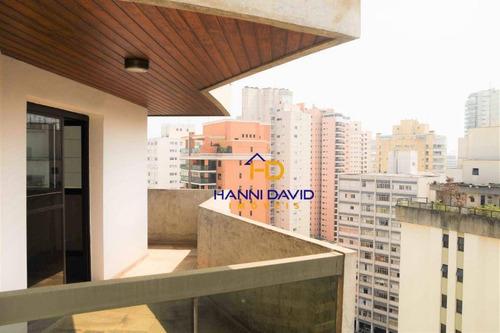 Lindo Apartamento À Venda No Paraíso - Próximo Ao Shopping Patio Paulista - Com 4 Dormitórios, Sacada E 3 Vagas Na Garagem. - Ap3544