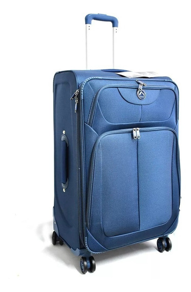 Valija Viaje Premium Grande 4 Ruedas Fuelle 28 Nueva Oferta