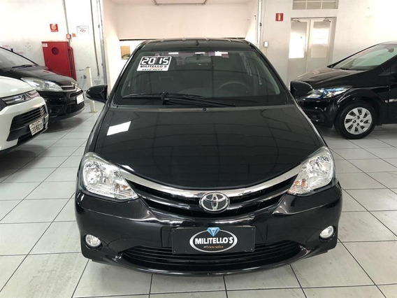 Toyota Etios Sedan, Bc Couro, Xls 1.5 Flex 2015