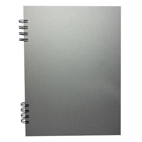 Cuaderno De Dibujo Carta En Papel Ecológico Color Crema