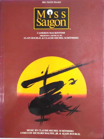 Songbook Miss Saigon Musical (hal Leonard - Big Note Piano)