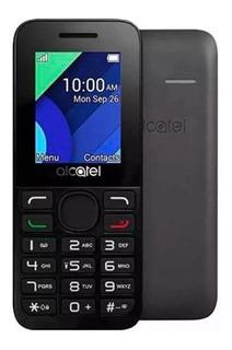 Celular Para Idoso Alcatel 1054 1.8 Dual Chip Preto Original