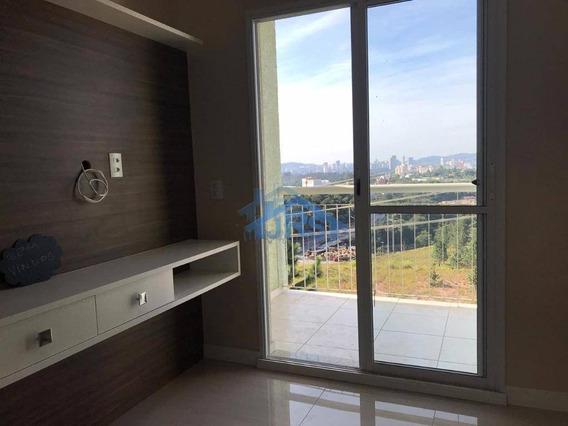 Apartamento Com 2 Dormitórios Para Alugar, 56 M² Por R$ 1.700,00/mês - Parque Viana - Barueri/sp - Ap2682