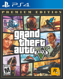 Gta V Grand Theft Auto 5 Premium Edition Ps4 Fisico Nuevo