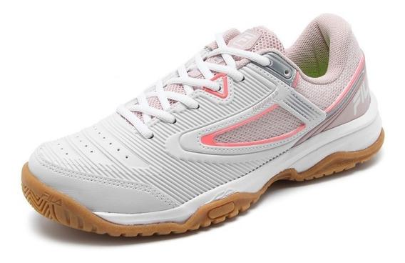 Fila Zapatillas Mujer Top Spin 3.0 Blanco / Rosa