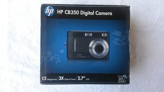 Hp Cámara Digital Cb350 12mp 3xoptical Zoom 2.7 Lcd Negra