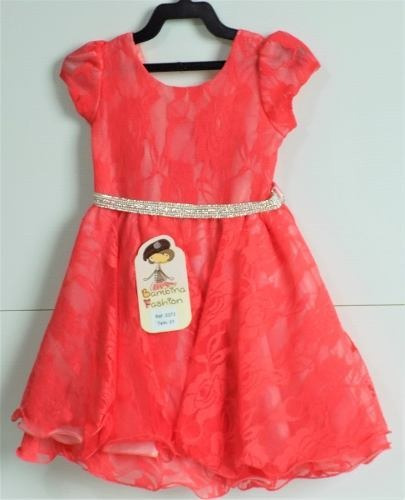 Vestido Infantil Festa Luxo Menina Bebê Frete Grátis Lindo!!