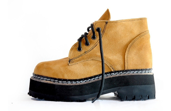 Borcegos Dirty Boots T.34a40 C.baja Base Triple Mujer Hombre