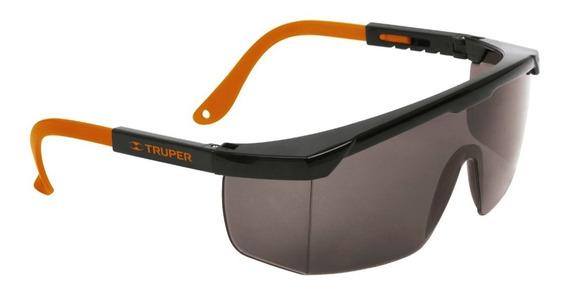 Lentes Seguridad Gafas Proteccion Gris Truper Sin Interes