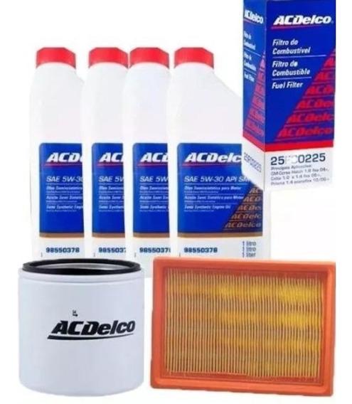 Troca Oleo Filtros 5w30 Semissintetico Corsa/montana/agile