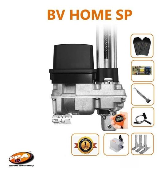 Motor De Portão Eletrônico Basculante Ppa 1/4hp Trava+suport