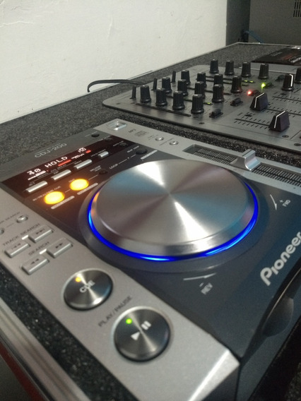 Par De Cdj Pioneer 200 + Mixer Vmx 300 + Case