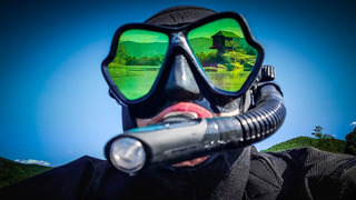 Visor 2019 Mares Espejeado Dorado O Plateado Buceo Snorkel