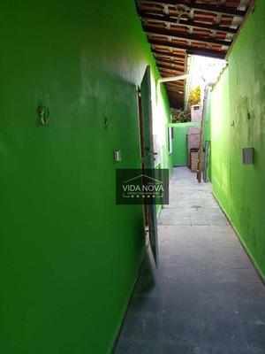 Casa Com 3 Dormitórios E Churrasqueira À Venda Por R$ 265.000 - Vila Mirim - Praia Grande/sp - Ca0348