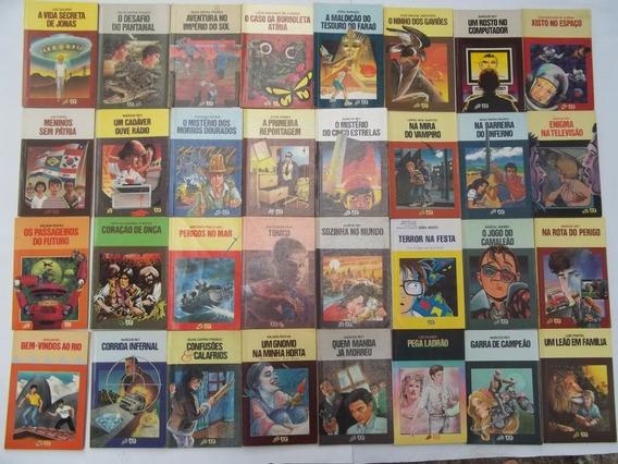 Livro Lote Com 74 Livros Série Vaga Lume Vários
