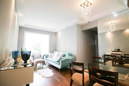08080 -  Apartamento 3 Dorms. (1 Suíte), City América - São Paulo/sp - 8080