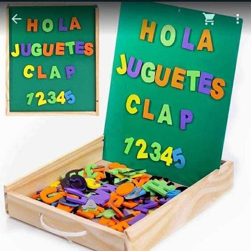 Imagen 1 de 1 de Clap Letras Y Números Magnéticos