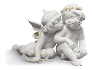 Escultura De Ángeles Lladro