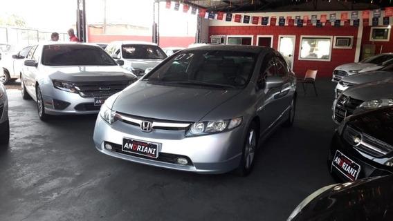 Honda Civic Sedan Lxs 1.8 Prata 2007