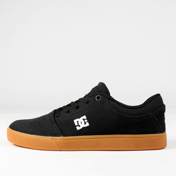 Tênis Skate Dc Shoes Crisis Tx La Preto/caramelo Original