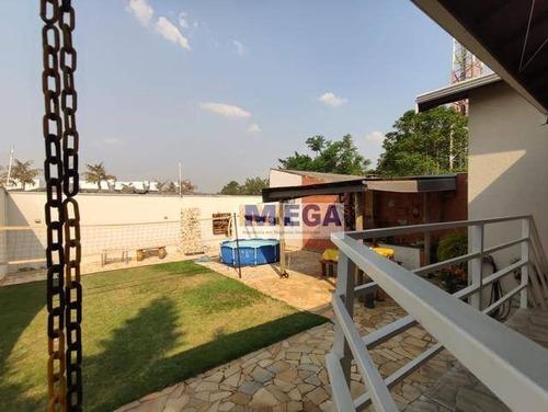 Imagem 1 de 15 de Casa Com 3 Dormitórios À Venda, 164 M² Por R$ 600.000,00 - Vila Mimosa - Campinas/sp - Ca2358