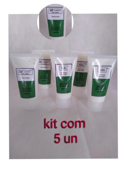 Kit Com 05 Cera Polidora Para Assentos De Banquetas 70ml