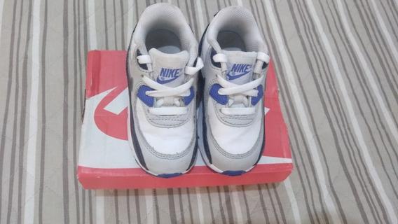 Tênis Nike Air Max 90 Infantil Tamanho 22.5
