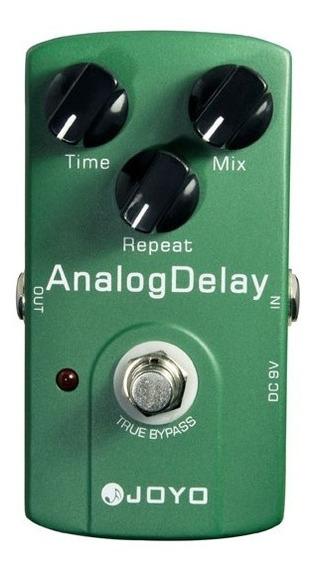 Pedal Guitarra Joyo Analog Delay + Nf + Garantia