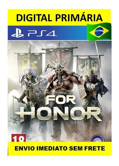 For Honor - Ps4 Digital Psn1 Primária - Envio Imediato