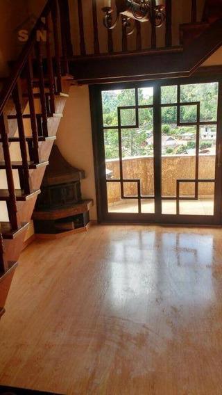 Apartamento Duplex Mobiliado Com 3 Dormitórios À Venda, 88 M² Por R$ 350.000 - Floresta Negra - Campos Do Jordão/sp - Ad0001