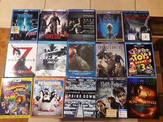 Peliculas Blue Ray Con Cover Originales Blu Ray Harry Potter