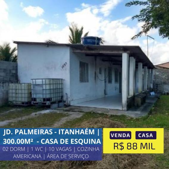Casa Com Varanda E Quintal Em Itanhaém Litoral Sul De Sp