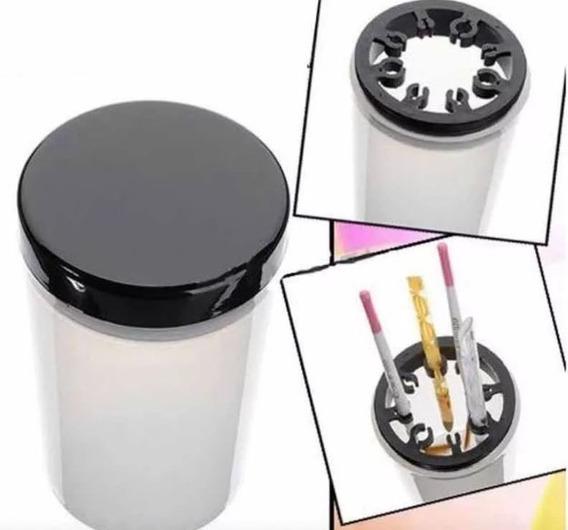 Vaso Limpiador De Pinceles Manicuria Arte De Uñas