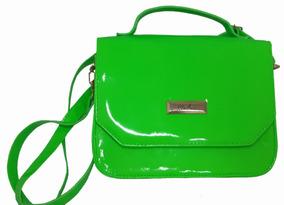 Bolsa Feminina Transversal Balada Neon Verde