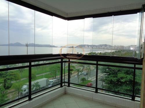 Apartamento  Com 4 Dormitório(s) Localizado(a) No Bairro Aparecida Em Santos / Santos  - 5821