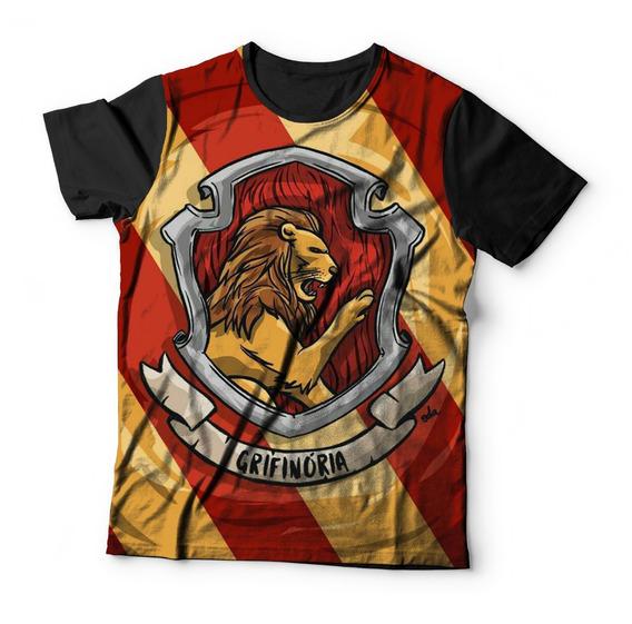 Camiseta Baby Look Harry Potter Grifinoria Ref:109