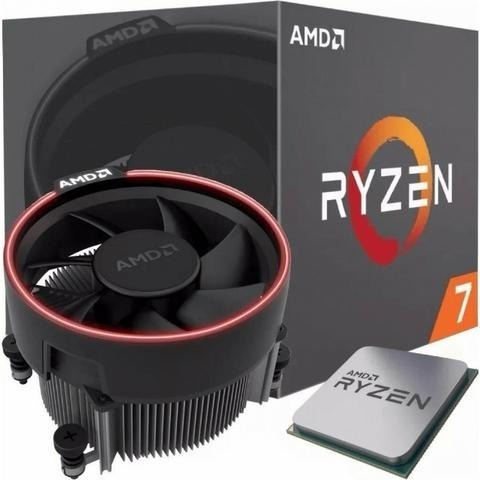 Processador Amd Ryzen 7 2700,cooler Wraith Spire, Cache 20mb