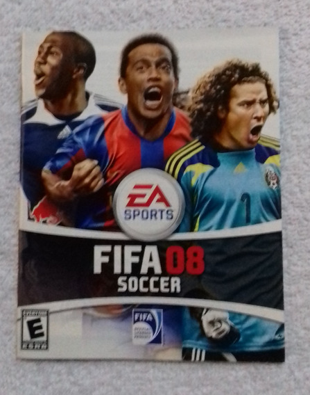 Manual Do Game Fifa Soccer 08 Ps3 ** Leia
