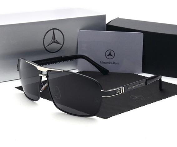Óculos Sol Mercedes- Benz Polarizado + Frete Grátis + Estojo
