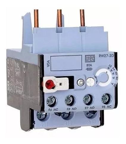 Kit Com 02 Pç Relé Sobrecarga Rw27-2d3-d028 1,8-2,8 A