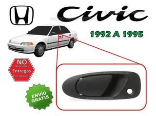 92-95 Honda Civic Manija Exterior Delantera Lado Izquierdo