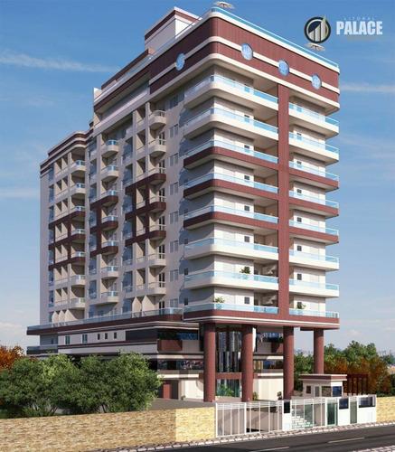 Apartamento Residencial À Venda, Vila Guilhermina, Praia Grande - . - Ap2784