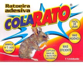 Cola Rato Ratoeira Adesiva 2 Caixas X 20 Un = 40 Un Li@