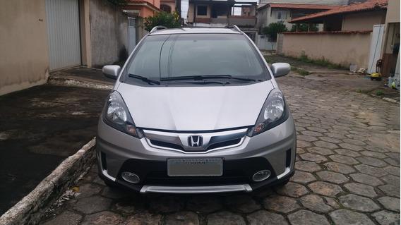 Honda Fit Twist 2013 - Prata - Único Dono