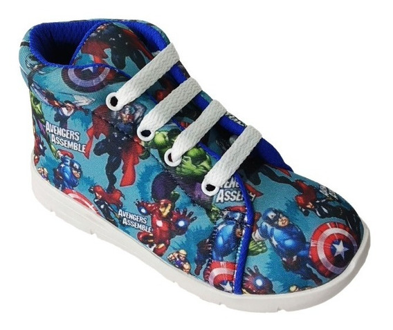 Botitas Para Niños Lol, Spiderman, Avengers, Unic (art 020)