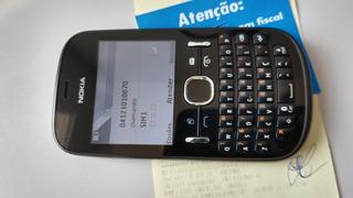 Celular Nokia Asha 200 Anatel Gsm Dualchip Desb Orig Nf Loja