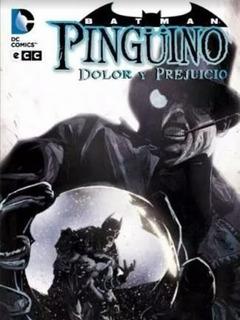 Batman Comic Pinguino Dolor Y Prejuicio Tapa Dura