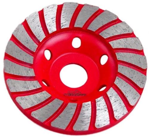 Imagem 1 de 3 de Disco De Desbaste Diamantado Para Concreto 100mm