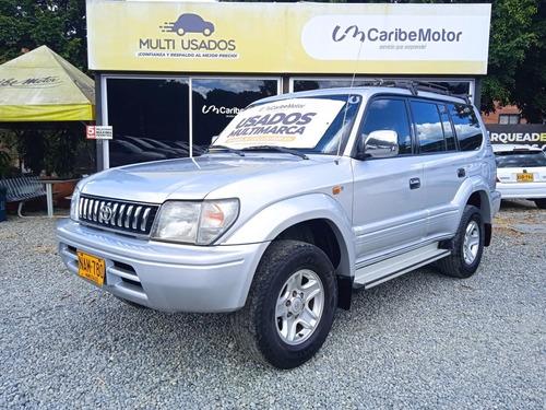 Imagen 1 de 9 de Toyota Prado 7 Puestos Gas/gasolina 4x4 Mt Plata 2007 Nam780
